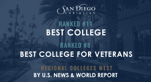 U.S. News names SDC a best college veterans raked 11 8