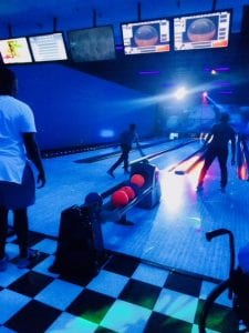 San Diego Christian College weekend bowling