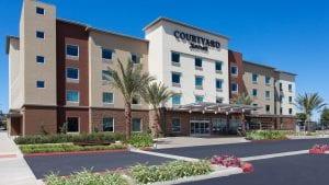 San Diego Christian College Visit Court yard Marriott