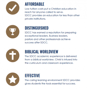 why choose san diego christian college affordable, distinguished, biblical worldview, effective