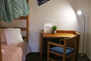 San Diego Christian College resident apartments bedroom