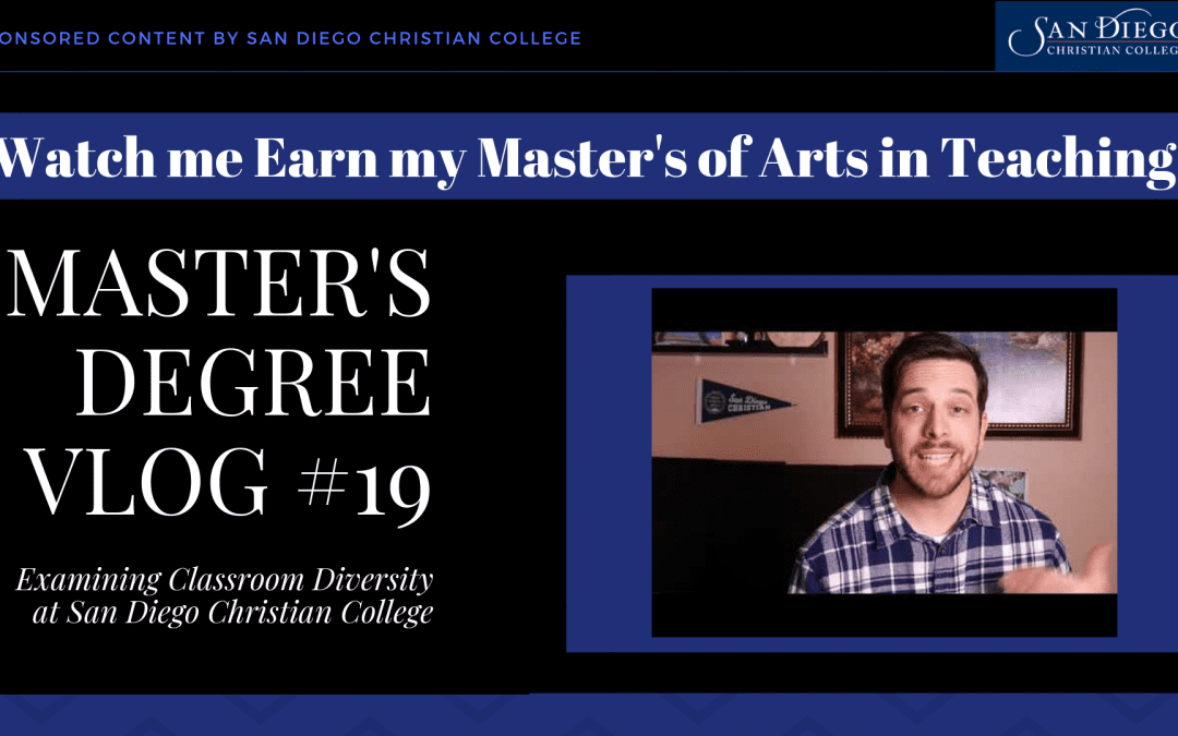 Master's Degree Vlog #19 – Teaching Classroom Diversity Beyond Food and Festivals