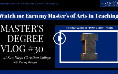 Master's Vlog #30: Who Am I Poem Reflection