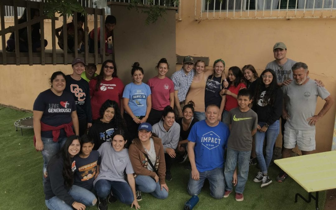 San Diego Christian College – over 13 years of volunteer service to its neighbors in Mexico